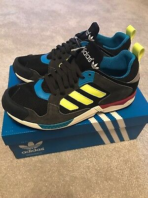 super popular a1711 fe10b Adidas ZX 5000 RSPN D65568 UK9 Originals Zx Running Shoes Zx5000 Black  Fl.Yellow