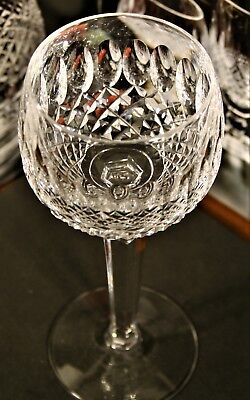 Waterford Crystal 'COLLEEN' Hock wine glasses.602/137 Signed