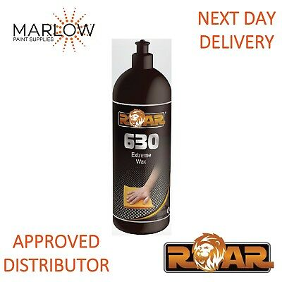 Roar 630 Extreme Liquid Wax 1Kg - Free Next Day Delivery