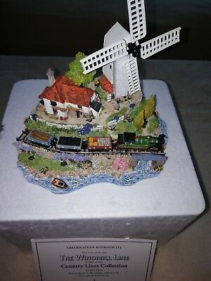 Danbury Mint Country Lines Collection. The Windmill Line by Jane Hart. Boxed.
