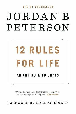12 Rules for Life by Jordan B. Peterson ( Audiobook + PDF )