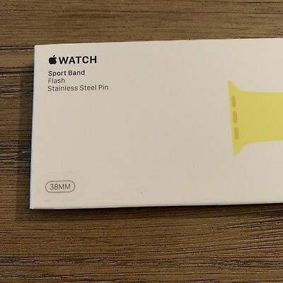 *Brand New* 38mm 40mm HTF Rare Flash Apple Watch Band Authentic/Genuine/OEM