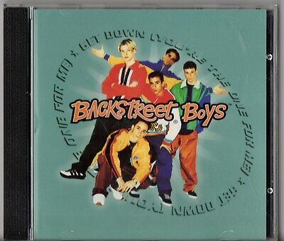 Backstreet Boys - Get Down (You're The One For Me) (5 Track CD Single,1996)