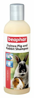 Beaphar Rabbit & Guinea Pig Shampoo 250ml (Pack of 6)