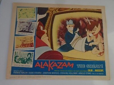 L4 Lobby Card 1961 ALAKAZAM The Great. Voice of Frankie Avalon Dodie Stevens