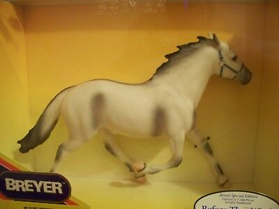 Breyer Sr Special Run 1997 Before Wind Toys R Us Alabaster Gray Pacer Horse