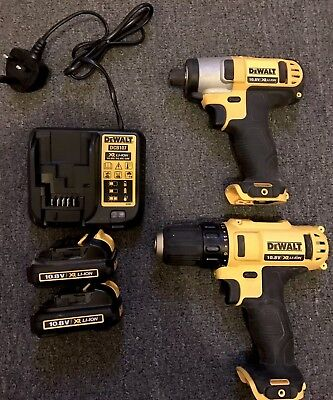 dewalt drill and impact driver 10.8v
