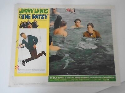 L2 Lobby Card 1964 Jerry Lewis as THE PATSY Ina Balin Everett Sloan Phil Harris