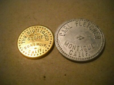 2 Different  Siskiyou County California Tokens