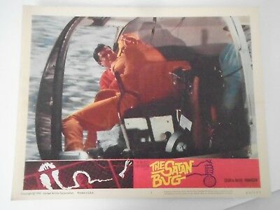 Lobby Card 1965 THE SATAN BUG (In Helicopter)