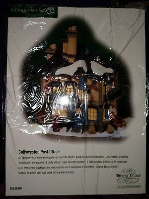 Department 56 Collyweston Post Office Christmas Dickens' Village 58510