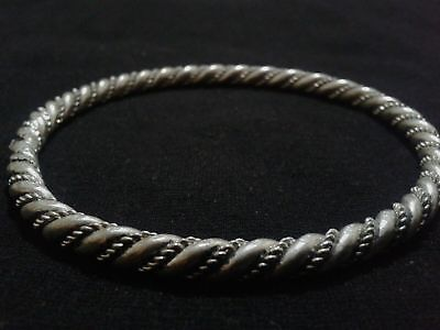 RARE VIKING twisted SILVER BRACELET Ancient BRACELET artifact