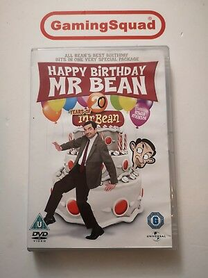 Happy Birthday Mr Bean, 20 Years of Mr Bean DVD, Supplied by Gaming Squad