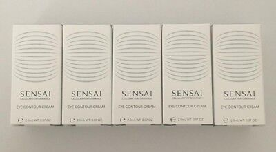 5 x Sensai Cellular Performance Eye Contour Cream 2ml = 10ml total - great value