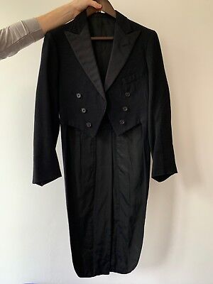 Antique 1920s Tailcoat Tuxedo Formal Dinner Jacket