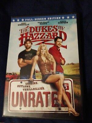 The Dukes of Hazzard (DVD, 2005, Unrated, Full Frame Edition)