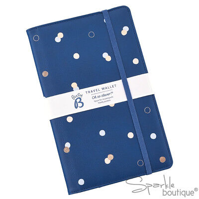 TRAVEL WALLET - Multi Passport Holder/Family Size Organiser- Internal Zip Pocket