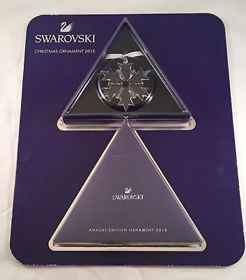 Swarovski Annual Edition Ornament 2018 Crystal Snowflake Christmas