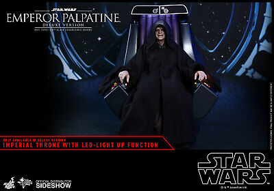 Hot Toys Emperor Palpatine MMS468 (Deluxe Version) Star Wars: Episode VI ROTJ
