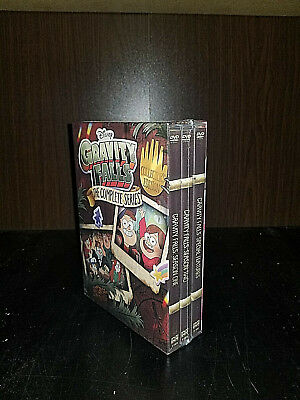 Gravity falls the complete series (DVD,2018,7-Disc Set) ALL 2 SERIES +BONOS,New!