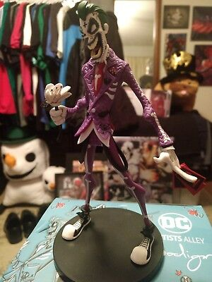 DC Artist Alley Nooligan Joker Day of the Dead variant
