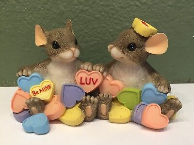 Fitz and Floyd Charming Tails You're My Sweetheart Figurine 84/116