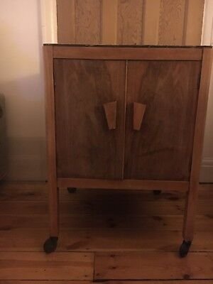 1930s Wooden Cabinet, Renovation required on the top.