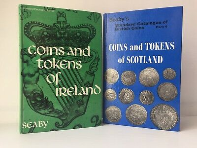 Seaby: Coins & Tokens of Ireland; Coins & Tokens of Scotland, 2 volumes