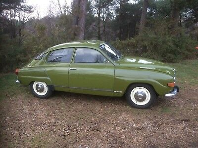 Saab 96 V4 1973 very good condition lots of history