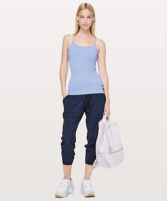 dff745a7fa1345 NWT LULULEMON WOMEN S Power Y Tank Iron Purple Size 4 -  35.00 ...