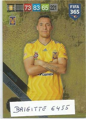 .Panini Adrenalyn XL fifa 365 2019 Limited Edition Jesus Duenas Made in Brasil