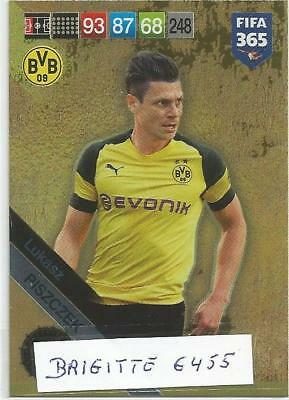 Panini Adrenalyn XL fifa 365 2019 Limited Edition Lukasz Piszczek Made in Brasil