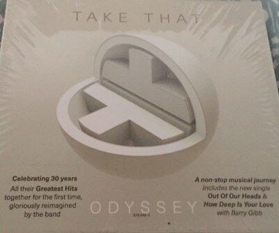 Take That Odyssey Deluxe Edition CD - Still in plastic