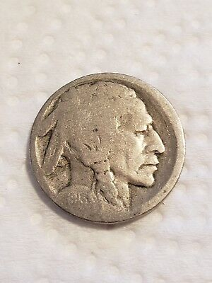 1913 D Type 1 mound style 5 cent Buffalo Nickel #73