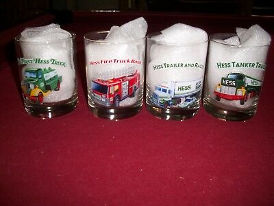 Hess Toy Truck Collector's Glasses