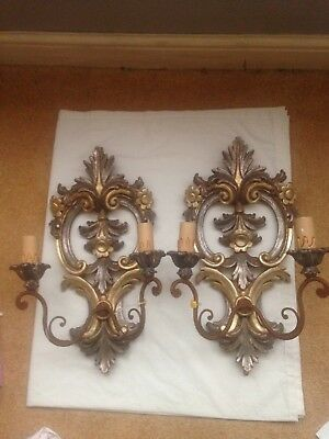 Pair Of Antique Wall Lights