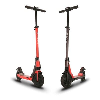 Black Zoom Stryder EX scooter UK OFFICIAL DEALER 1 yr Warranty Global Shipping