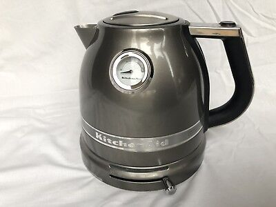 KitchenAid Artisan 1.5L Kettle Medallion Silver - 5KEK1522MS