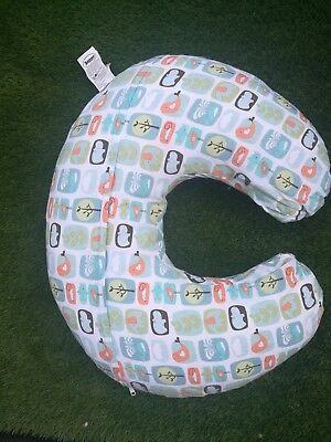 Boppy Breastfeeding/Nursing Pillow - Stamp collector pattern