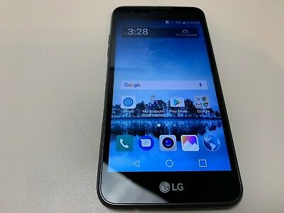 LG REBEL 3 - 16GB - Black (TracFone) LGL158VL (Good Condition