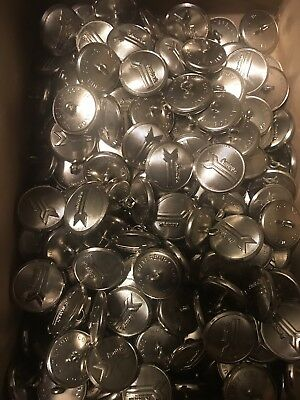 Box Of Old Amtrak Uniform Buttons Box Of At Least 75 Or More Never Used