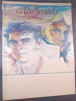 Air Supply Greatest Hits Songbook (1983, Paperback)