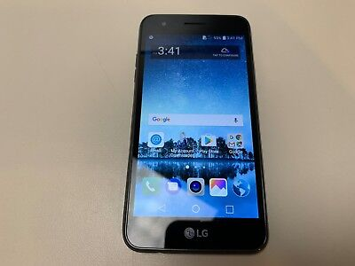 LG REBEL 3 - 16GB - Black (TracFone) LGL158VL (Good Condition) - Used -  Grade C