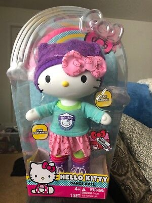 Hello Kitty Dance Doll (Brand New in box - 13 inches)