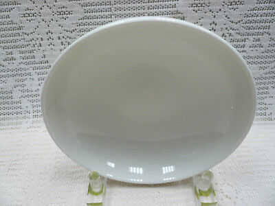 """Russell Iroquois Wright Casual China White 8"""" Vegetable Serving Bowl Mid-Century"""