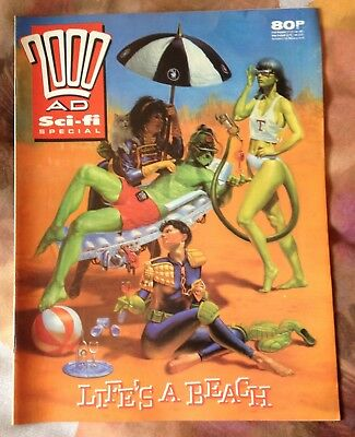 2000AD Sci-Fi Special - 1989 - Very Good Condition