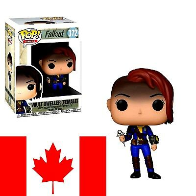 Funko Pop! Games: Fallout - Vault Dweller (Female) (FAST & FREE SHIPPING)