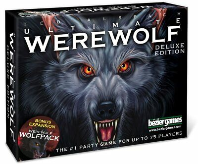 Ultimate Werewolf Deluxe Edition Board Game New
