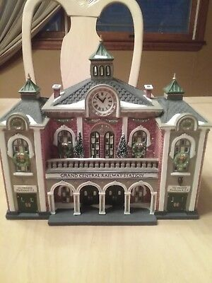Dept. 56-Grand Central Railway Station-Christmas in the City Series