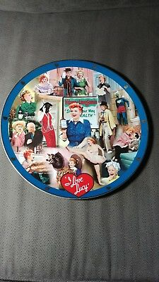 "Danbury Mint ""I LOVE LUCY"" Lucille Ball 12 in. Collector Plate- RARE! No Number"
